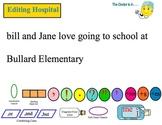 Editing Hospital on SmartBoard