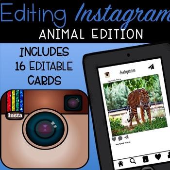 Editing Instagram (Animal Edition)
