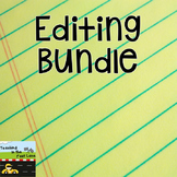 Editing Literacy Center Bundle