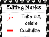 Editing Marks Poster