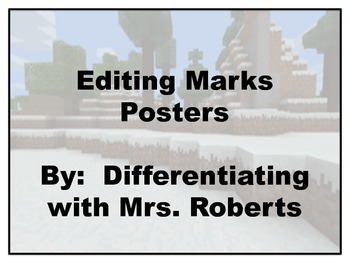 Editing Marks Posters