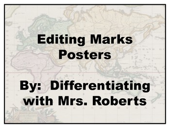 Editing Marks Posters (Map Theme)