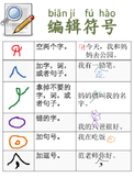Editing Marks for Writing (Chinese Immersion)