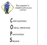 Editing Mneumonic (COPS)