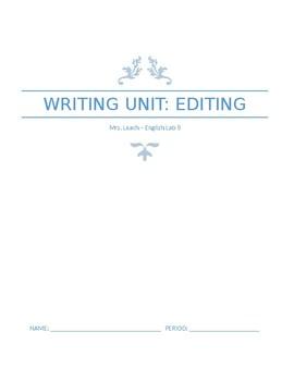 Editing Packet