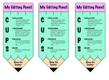 Editing Pencils