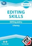Editing Poetry – Year 2 – 3 ebook
