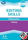 Editing Poetry — Years 4 — 5 ebook