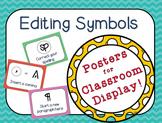 Editing Symbols Posters