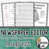 Editing Practice - August Edition