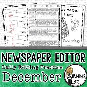 Editing Practice - December Edition