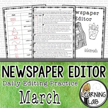 Editing Practice - March Edition