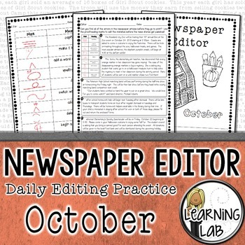 Editing Practice - October Edition