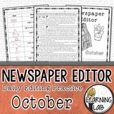 Editing Practice - October Edition