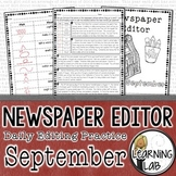 Editing Practice - September Edition