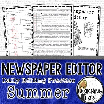 Editing Practice - Summer Edition