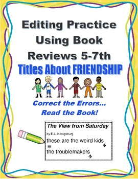 Editing Passages Using Book Reviews:  Friendship Titles