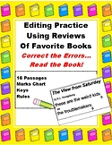 Editing Passages Using Short Book Reviews: Punctuation 4-7