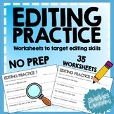 Editing / Revising / Proofreading Practice - corrections a
