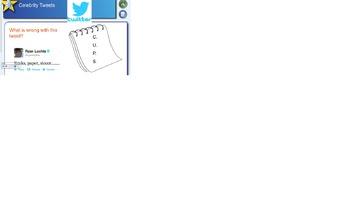 Editing Practice with Celebrity Tweets