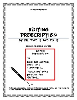 Editing Prescription By Doctor Find It And Fix It