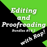 Editing & Proofreading Worksheets & Proofreading Passages Using Songs Dbl Bundle