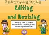 Editing & Revising Sentences, Cities, Dates - SMART Notebook Lesson