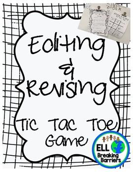 Editing & Revising Tic Tac Toe Game