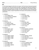 Editing & Revising Weekly Tests (STAAR & CCSS) - Assessmen