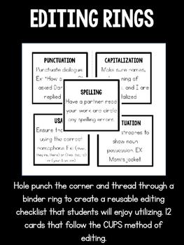Editing Rings