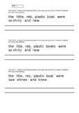 Editing SPAG in KS1 Primary English