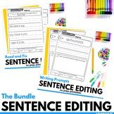 Editing Sentences Bundled