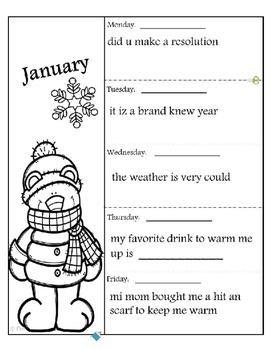 Editing Sentences - January