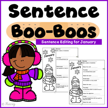 Editing Sentences - January