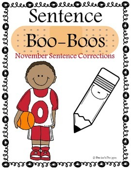 Editing Sentences - November