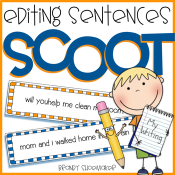 Editing Sentences SCOOT