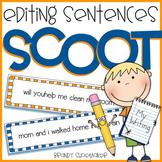 Editing Sentences SCOOT