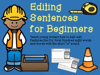 Editing Sentences for Beginners- Short A Sound