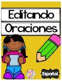 Editing Sentences in Spanish - Oraciones para editar