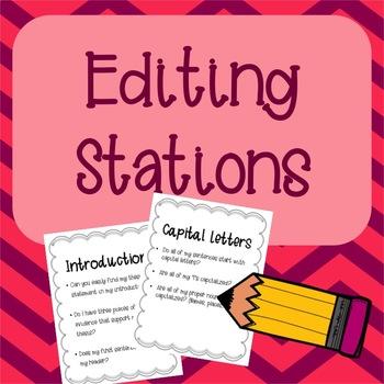 Editing Stations