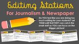 Editing Stations for Journalism and Newspaper