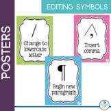 Editing Symbols - Classroom posters