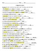 Writing: Editing Symbols Review Worksheet #2 and Highlighted/Detailed Answer Key