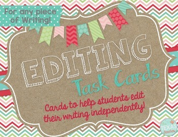 Editing Task Cards