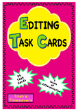 Editing Task Cards - Spelling