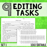 Editing Tasks - Grammar Practice 1