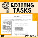 Editing Tasks - Grammar Practice 2