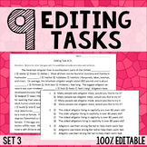 Editing Tasks - Grammar Practice 3
