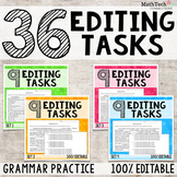 Grammar Practice - Editing Tasks