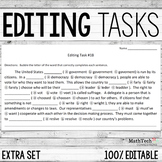 Editing Tasks: Vol 2, Grammar Practice 1
